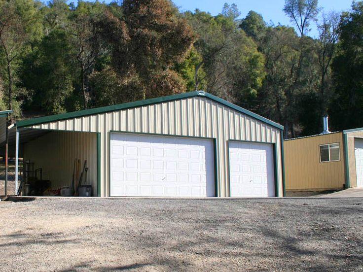 Quality Metal Garage : Ideas about steel garage buildings on pinterest