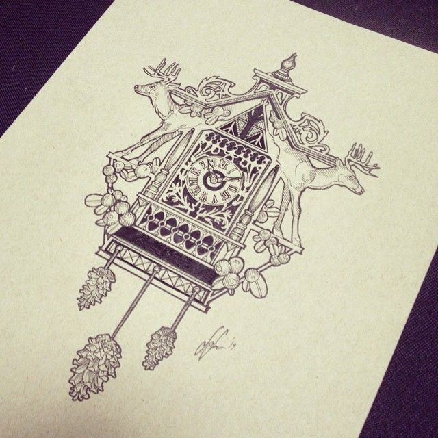 Best 25 cuckoo clock tattoo ideas on pinterest watch tattoos clock tattoos and clock and - Cuckoo clock plans ...