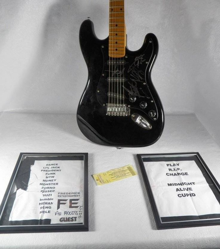 EXTREME Band Signed Guitar Setlist Pass Gary Cherone Nuno Bettencourt ALL 4 COA | Entertainment Memorabilia, Autographs-Original, Music | eBay!