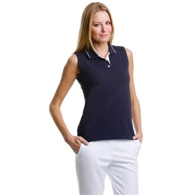 Gamegear Ladies Proactive Sleeveless Polo Shirt is an ideal summer addition to your wardrobe. Designed with shaped side seams for a comfortable & stylish fit.