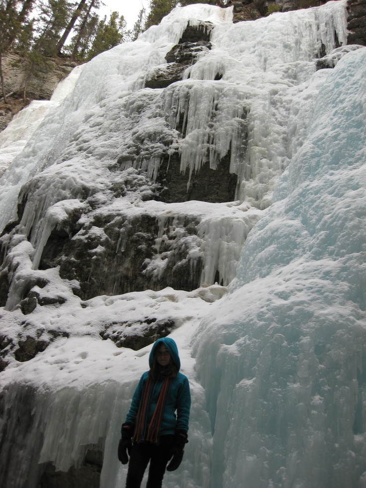 Maligne Canyon - Alberta, Canada (Photo by Anita, March 2009)