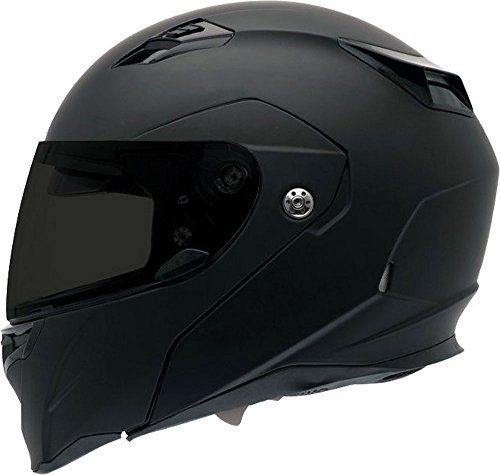 Bell Revolver Evo Unisex-Adult Modular/Flip Up Street Helmet (Matte Black, Large) (D.O.T.-Certified). For product info go to:  https://www.caraccessoriesonlinemarket.com/bell-revolver-evo-unisex-adult-modularflip-up-street-helmet-matte-black-large-d-o-t-certified/