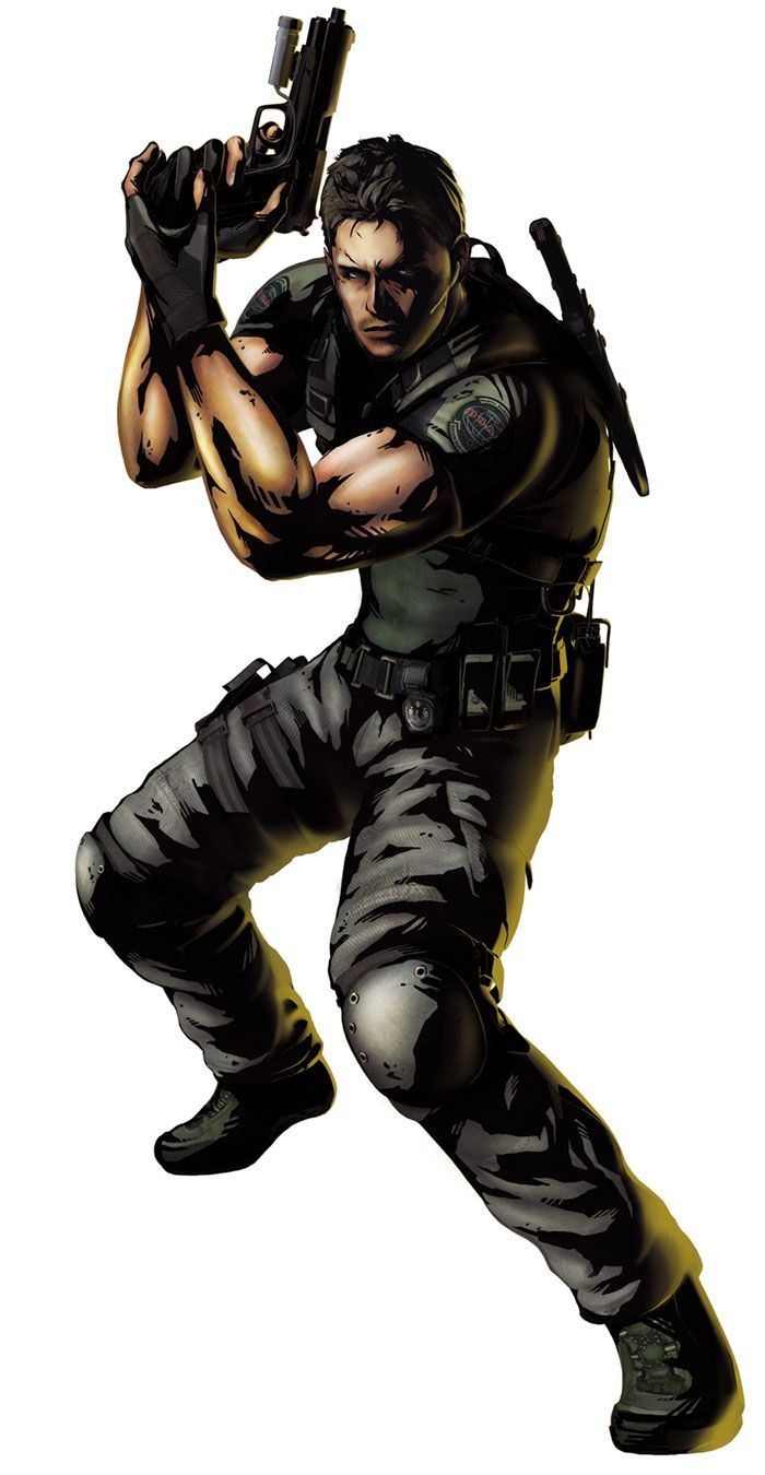 Chris Redfield Voiced by: Hiroki Tochi (Japanese), Roger Craig Smith (English)