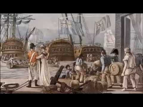 Youtube - First Fleet Arives 1788