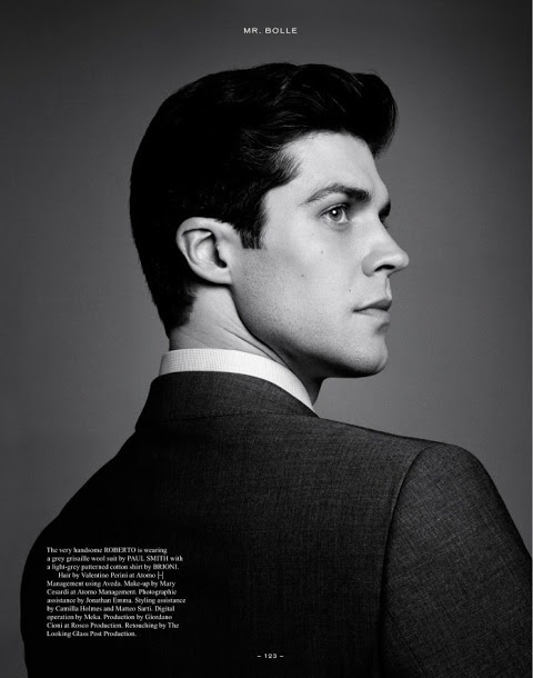 Roberto Bolle by Andreas Larsson   Elastic Man