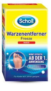 Produkte gegen Warzen: Pflaster und Vereisungssprays - Scholl