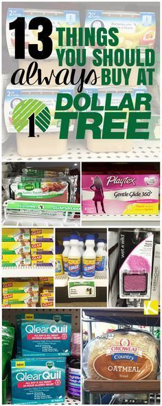 Things to buy at Dollar Tree to Save Money