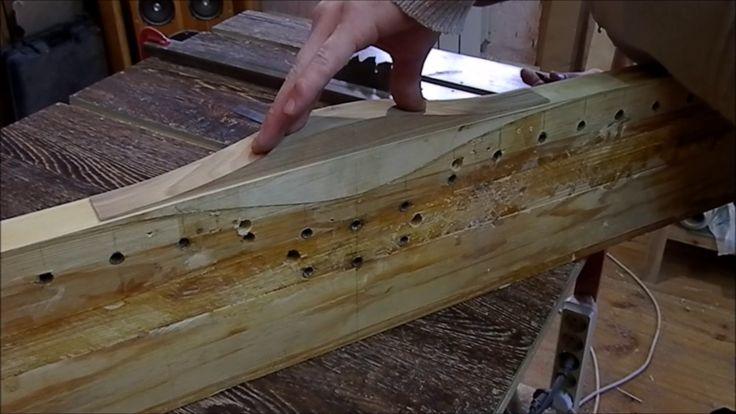Изготовление азиатского лука #2 Рукоять
