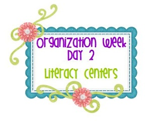 Mrs. Kelly's Kindergarten: Organization Week- Day #2 : Literacy Centers