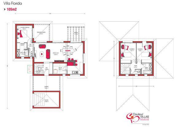 17 Best images about Plans de maison on Pinterest Patio, Interieur - plan petite maison plain pied