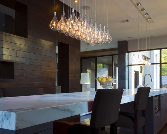 Contemporary Pendant Lighting For Dining Room Custom 48 Best Modern Stainless Steel Lighting Images On Pinterest Design Ideas
