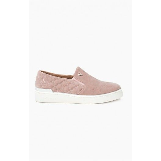 Tenisky dámske ružovej farby našuchovacie - fashionday.eu