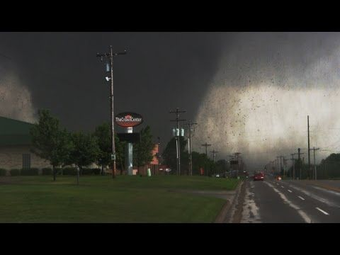 LARGEST TORNADO EVER!!! From Birth to Death (w/ Radar & Commentary) 5-31-13 - YouTube