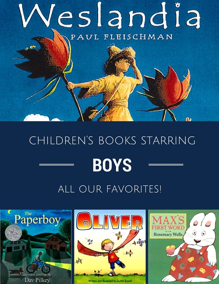 Boy-Led Children's Books We Love | a recommended kids' book list from Planet Jinxatron