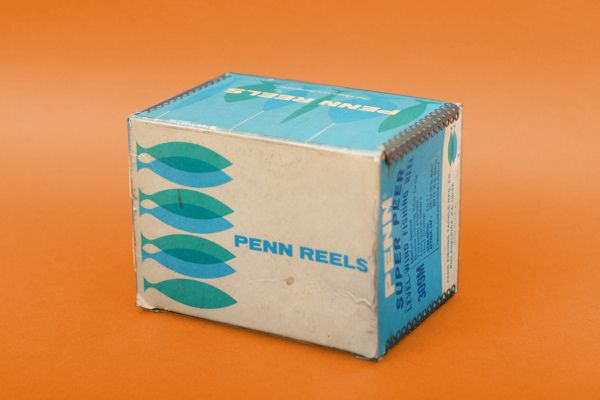 Penn fishing reels packaging, from the collection of Javier Garcia Mejia
