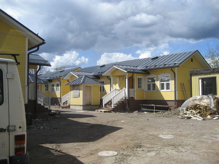 Ekami, talonrakennus, Hamina.