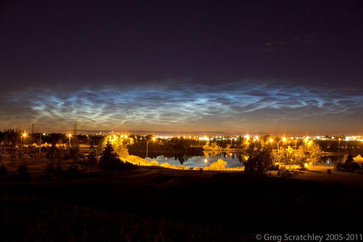 NLC Over Edmonton