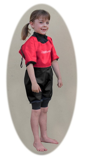'Hickman Line' drysuit allows children and adults with indwelling catheters or other medical devices to swim safely