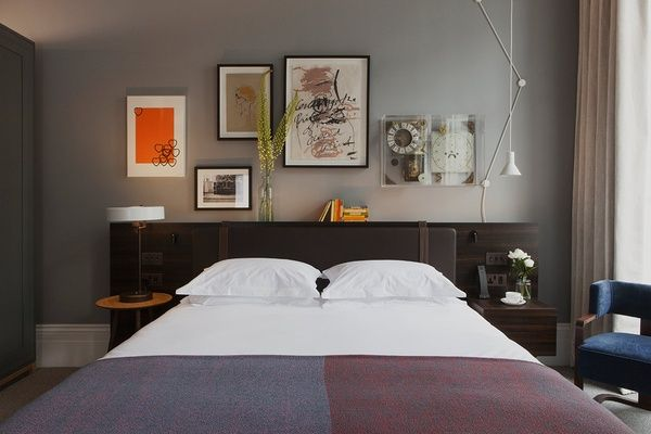 The master bedroom suite at The Laslett. | Finally! A Hotel We Can Love in Notting Hill