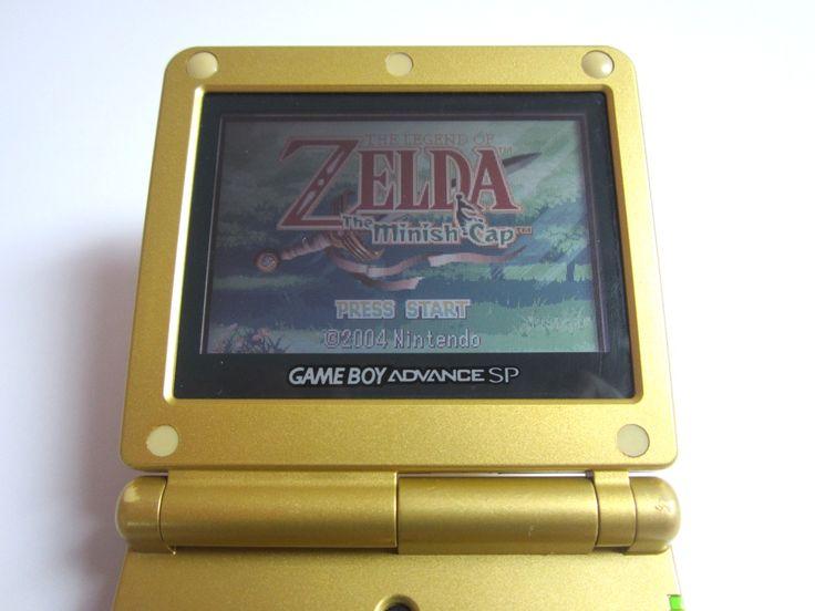 Edição de Colecionador - Todas as edições de Zelda - Collector's Edition Limited Design - game boy advance - minish cap