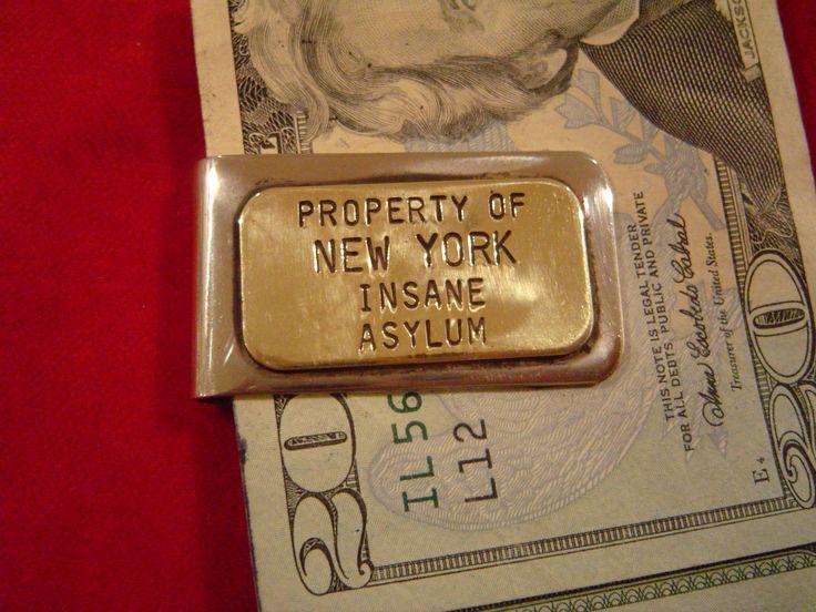 Money Clip: New York Insane Asylm