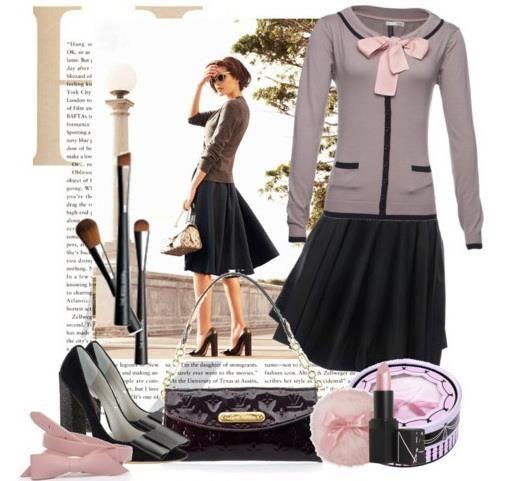 Английский стиль платье