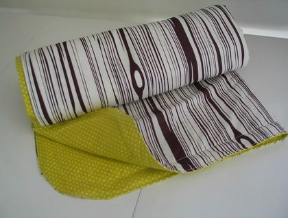 Faux Bois Organic Baby's Blanket by Empire Eco Designs