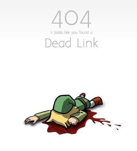 404 - Dead Link