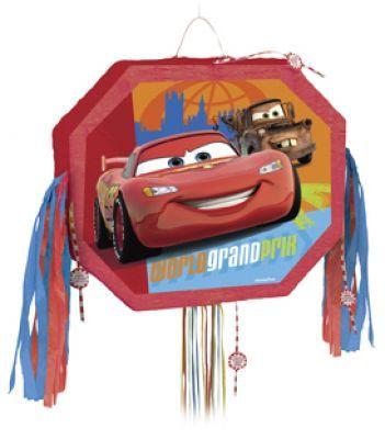 #DisneyCars Pull String Pinata