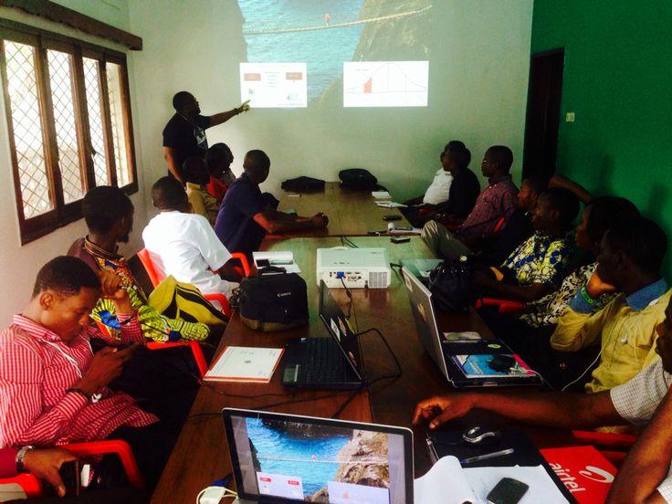 Speed Coaching au coworking de Kinshasa ! #imanihun