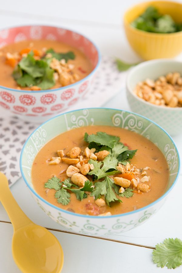 African Peanut Soup from The 30 Minute Vegan: Soup's On!