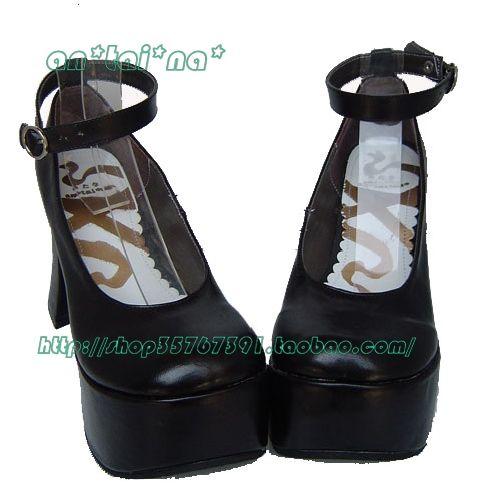 ◢an*tai*na*◣ LOLITA COS PUNK高跟女王鞋9815 多色