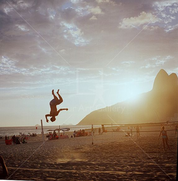 Rio Upside Down By artist Andres Schlanbusch