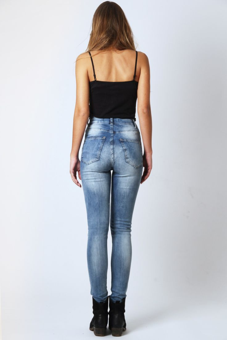 high waisted jeans - Google Search | Fashion | Pinterest | Tags