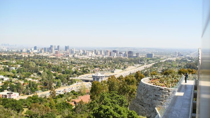 View of Los Angeles from The Getty Center. [OC][4608x2592]