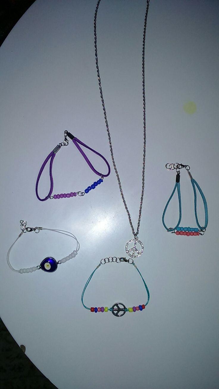 #Diy #Necklace #Diy#Leather#Bracelets
