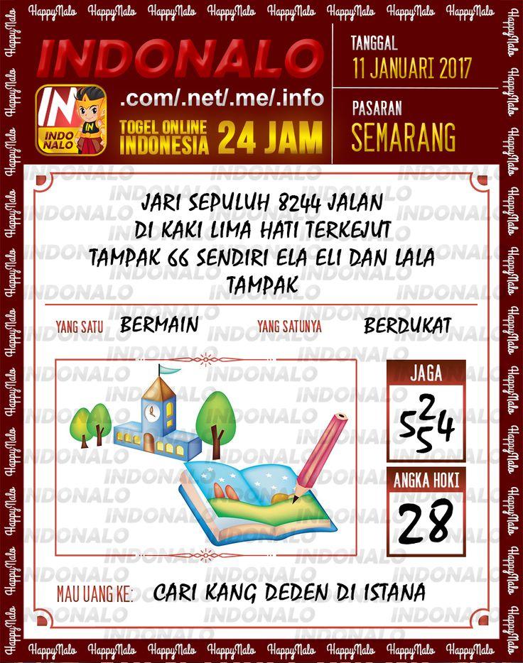 Kode Kumat 3D Togel Wap Online Live Draw 4D Indonalo Semarang 11 Januari 2017