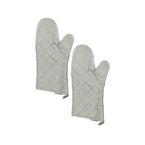 Medium Silver Oven Mitts Set ( Case of 36 )