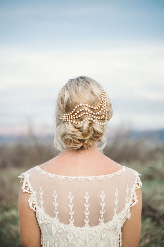 Glam Bohemian and Vintage Inspired Headpieces by Danani