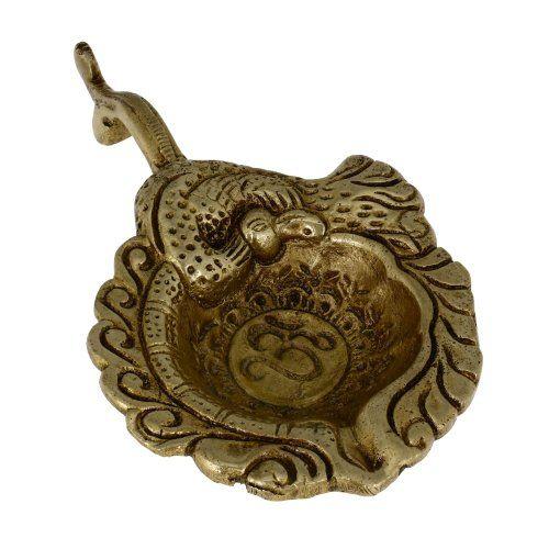 Brass, Handmade Oil Lamp, Indian Peacock Diwali Diya, Om Engraved,6.5 inch ShalinIndia http://www.amazon.in/dp/B00FIYGPMK/ref=cm_sw_r_pi_dp_Jixaub0JK6C1W