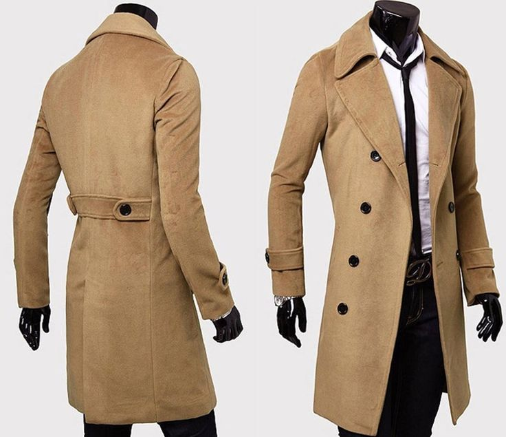 Collection Brown Trench Coat Men Pictures - Reikian