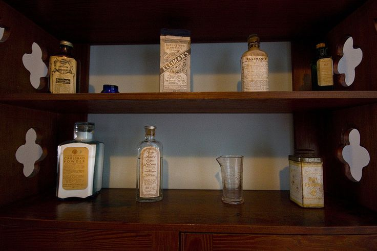 the victorian medicine cabinet | by Sic Itur Ad Astra LRPS
