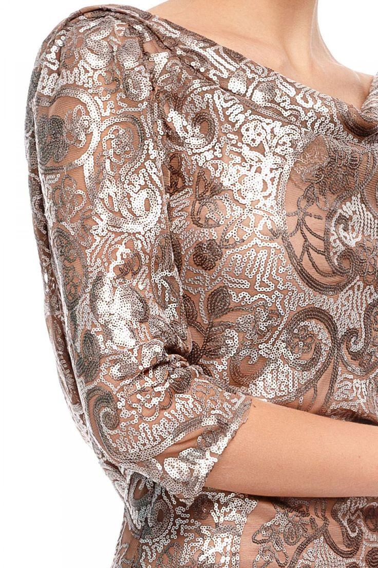 Elegance with a twist.TORY evening dress by Athena Philip >>> www.athenaphilip.ro
