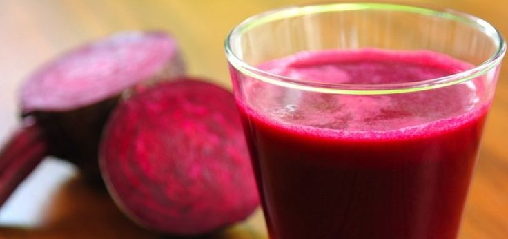 The Ultimate Beet Juice Recipe:Ingredients:      1 beet, cleaned and chopped     2 carrots, cleaned and chopped     4-6 strawberries, cleaned     About a cup or handful of grapes     1 apple
