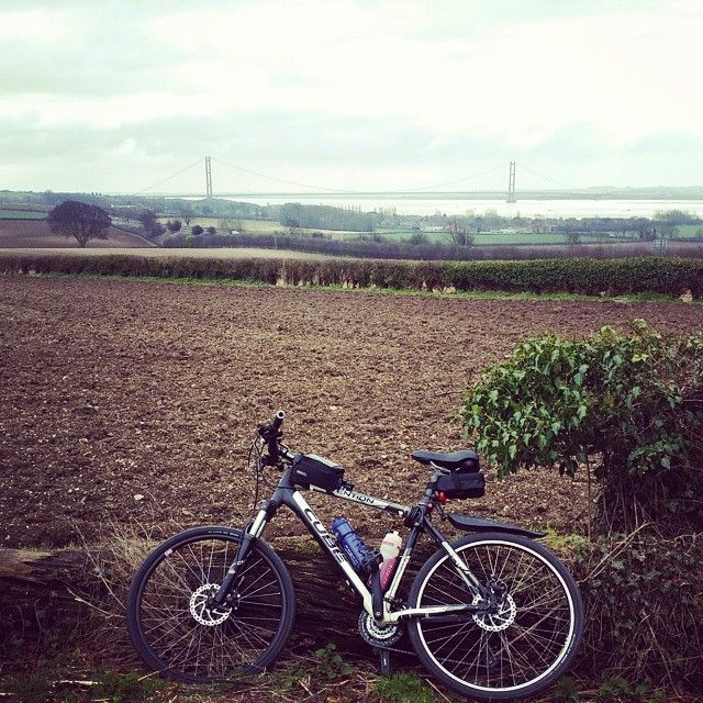 View of the bridge (at Swanland, East Yorkshire)