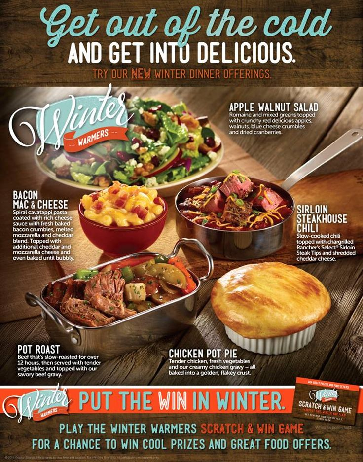 From Bacon Mac & Cheese to Sirloin Steakhouse Chili, we have something to warm you AND your taste buds up this winter! People are no longer going out for dinners with their loved ones or family due to high cost of living. This has also affected businesses as well making them on new ways to attract clients through promotional means. http://anncoupons.com/restaurantscoupons/item/hometown-buffet-coupons