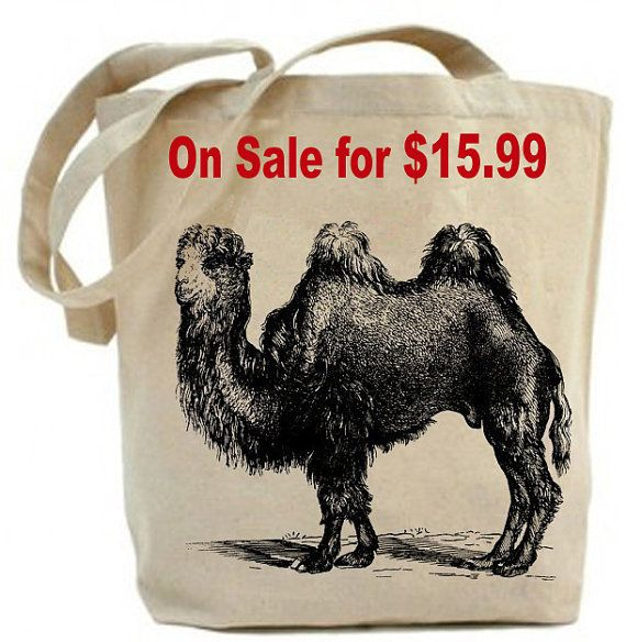 Hey, I found this really awesome Etsy listing at https://www.etsy.com/listing/53850033/camel-tote-bag-canvas-tote-bag-recycled