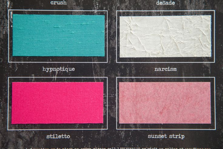 """high quality book cloth fabrics. """"sunset strip"""" is very glittery in person."""