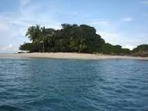 Ilha de Coiba, a maior ilha da América Central, ao largo da costa da província de Veraguas, Panamá.