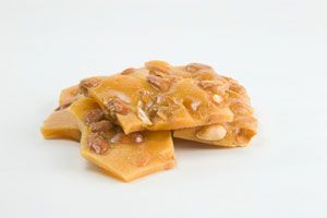 Soft Peanut Brittle (similar to what can be purchased from the Davenport in Spokane, WA)